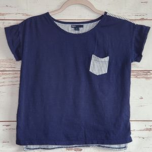 Gap Kids Crop Top XL Blue